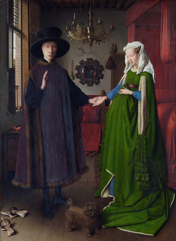 ואן אייק - נישואי הזוג ארנולפיני 1434